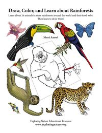 Teach a Unit on Rainforests with activities on Exploringnature.org Rainforest Food Web, Amazon Rainforest, Rainforests, Anaconda, Biomes, Animal Drawings, African, Activities, Learning