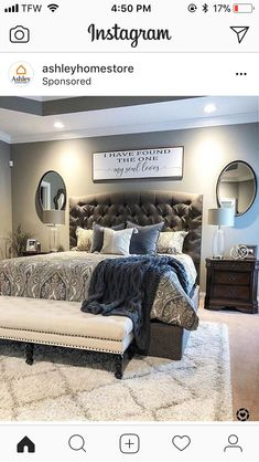 Bedroom Ideas For comfy to relaxing decor, decor post stamp 6990381982 - Most stunning answers to produce a comfortable to a truly sensational vibe . This incredibly lovely diy home decor bedroom ideas awesome example posted on this day 20181225 , Home, Bedroom Makeover, Home Bedroom, Bedroom Furniture, Bedroom Inspirations, Master Bedroom Bathroom, Remodel Bedroom, Bedroom, Master Bedrooms Decor
