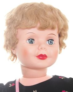 "Vintage 1950's Sayco Companion Doll Patty Play PAL Style 35"" Tall Blond Curly 