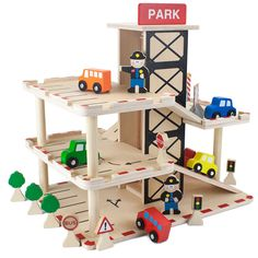 Wooden Wonders Downtown Deluxe Parking Garage