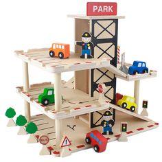 Wooden Wonders Downtown Deluxe Parking Garage