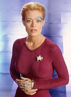 Jeri Ryan (Star Trek: Voyager, Seven of Nine)