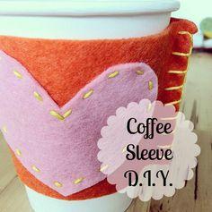 DIY Coffee Sleeve Template