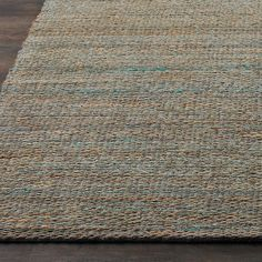 Accent Colors in Natural Jute Rugs - Shades of Light