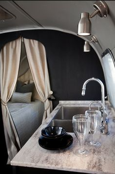 A seriously beautiful Airstream.