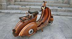 Wood Vespa VBA