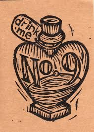Image result for linocut valentines day card