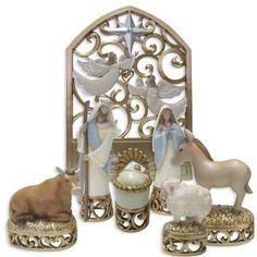 Enesco Legacy of Love Holy Family 7-Piece Nativity