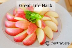 Pediatrician Andrew Maloney, MD, shares a life hack for how to safely cut an apple. As kids get older, this is a great technique to start developing their knife skills in the kitchen. Healthy Eating Tips, Eating Habits, Healthy Recipes, Apple Cut, Great Life, Weight Management, Pediatrics, Improve Yourself, Healthy Lifestyle
