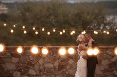 portraits under the string lights at Bella Collina / photo: stephanieasmith.com