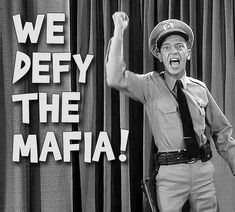 Barney Fife, The Andy Griffith Show, Good Old Times, Mafia, Captain Hat, Tv Shows, Iron Gates, Awesome Stuff, Entertainment
