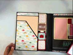 Foto Folio Style 6 Single Fold Folio & the Triple Foto Folio, Pink Paisl...