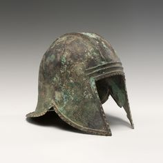 """Helmet of the Illyrian Type from our blog post """"Warrior – Ancient Arms and Armor"""". Read it at: http://www.aboutaam.org/warrior-ancient-arms-and-armor/"""