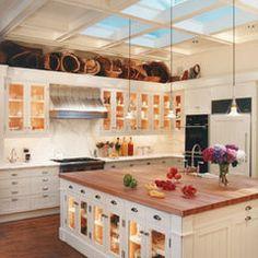 traditional kitchen by Sutton Suzuki Architects.  So much beautiful light