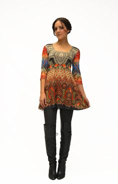 Loving Amma Design's newest creations like this 589 West Side Tunic. Shop it this Fall on www.nightwishfashion.com