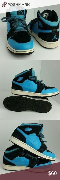 NIKE AIR JORDAN RETRO 1 BOYS SHOES IN GOOD CONDITION   BOYS SIZE 7Y BIG KIDS   SKE # JL   SKE Air Jordan Shoes Sneakers