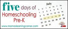 Homeschooling Pre-K