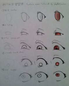 Yandere Eyes Tutorial by ShuffledYandere.deviantart.com on @deviantART