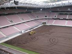 13 janv. 2014 : la pelouse fait peau neuve à l'Allianz Riviera