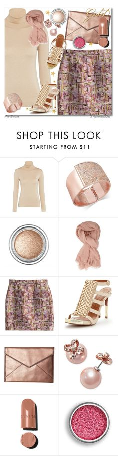 """""""All That Glitters Is Gold"""" by octobermaze ❤ liked on Polyvore featuring MARC CAIN, INC International Concepts, Forever 21, Dsquared2, Moda In Pelle, Rebecca Minkoff, Kate Spade, gold and rosegold"""