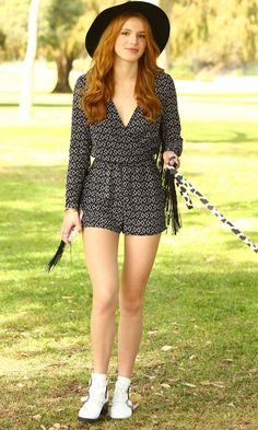Bella Thorne Looks Festival-Ready In H&M's Coachella Collection