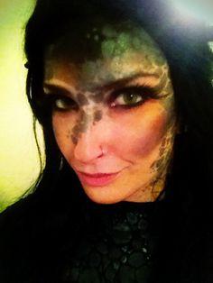 Toothless Halloween makeup :)