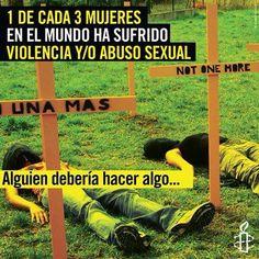 """""""Alguien debería hacer algo...""""   ¿Alguna vez lo escuchaste? ¿o lo dijiste?  Es tiempo de actuar para transformar nuestro mundo en uno libre de violaciones a derechos humanos.  Actúa con Amnistía. Sumate a Amnistía! http://amnesty.org.py/unite/"""