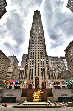 Rockefeller Center by Ben Ferenchak #newyorkcityfeelings #nyc #newyork