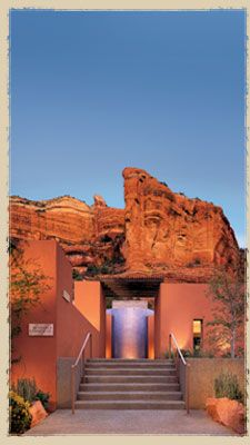 One of the best places on earth.  Mii amo Spa at The Enchantment Resort - #Sedona