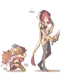 Fiora and Teemo