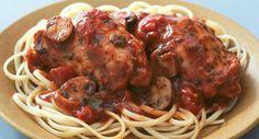 Slow Cooker Chicken in Italian Tomato Sauce   McCormick