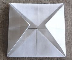 very nice tutorial for cathedral windows quilt Just like the one Granny Miller taught me to make