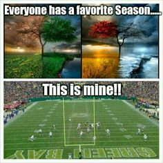 Love me some Green Bay Packers football! ♡