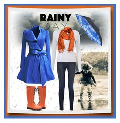 """Rainy Day"" by citkat777 ❤ liked on Polyvore featuring ADAM, J Brand, Topshop, Ilse Jacobsen Hornbaek, Pieces, women's clothing, women, female, woman and misses"