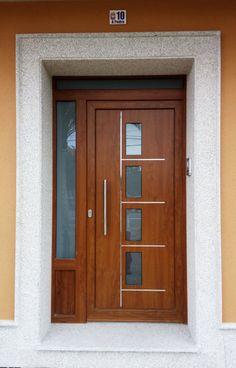 House Main Door Design, Home Door Design, Wooden Front Door Design, Door Gate Design, Wooden Front Doors, Door Design Interior, Modern Entrance Door, Modern Exterior Doors, Door Design Images