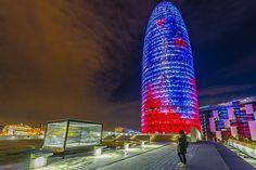 Torre Agbar, mis fotografías con texto de Planeta Dunia