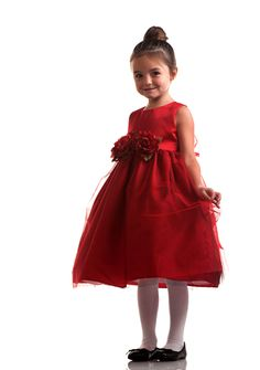 Red Flower Girl Dresses is the Hottest Trends for 2014 ⋆ Instyle Fashion One