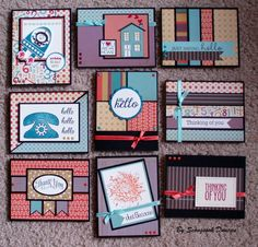 Seongsook's Creations... My Therapy, Your Cards!: Challenge OWH Tutorial: The 6x6 template