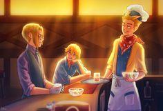 Talvikielo's Trio of Towns Playlog — Garden Grill Dorks!    Brad & Wayne are definitely...