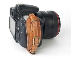 love this! Leather camera hand strap