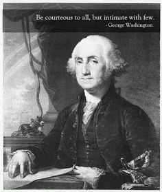 George Washington was the first president of the United States and tha's very historical.