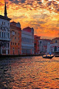 Золотая Венеция. #Италия #Venice #Italy