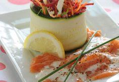 Méli-mélo de légumes et poisson marinéVoir la recette du Méli-mélo de légumes et poisson mariné >>