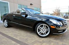"2013 Mercedes-Benz E350 Sport Convertible, Only 21750 Miles, Asking Only $48,850.00,Obsidian Black Metallic/Almond/Black Leather/Black Ash Wood Trim. Premium #2 Package, Heated/Active Ventilated Front Seats, Keyless Go,Lighting Package, Bi-Xenon Headlamps with Active Curve Illumination, Cornering Illuminating Lamps, Heated Headlamp Washers, Hard-drive Navigation with Zagat Guide, Harman/Kardon LOGIC7 Sound System with Dolby Digital 5.1, 18 ""Twin 5-Spoke AMG Wheels, Brushed Aluminum Pedals"