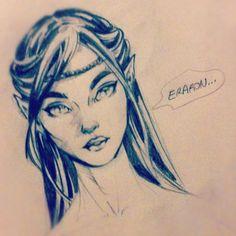 Arya Eragon by Petraites on deviantART