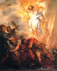 Resurrection - Van Dyck - 54 Paintings of the Passion, Death and Resurrection of Jesus Christ