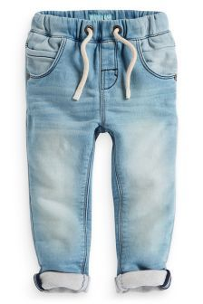 Jersey Denim Pull On Trousers (3mths-6yrs) (126850G30) | £11 - £12