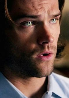 Its not fair that he has such pretty eyes.