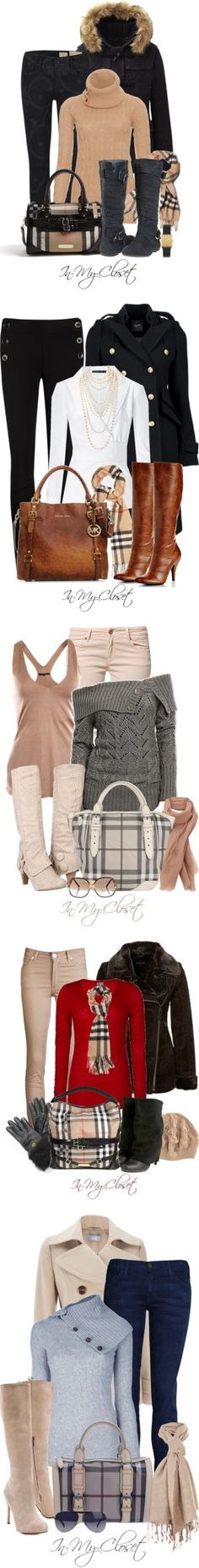 """Burberry!"" by in-my-closet on Polyvore"