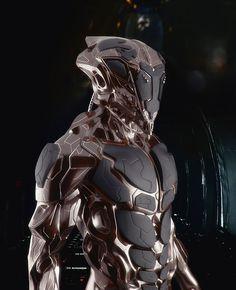 cyberpunk, cyborg, future, armor, futuristic, military, sci-fi